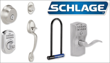 Master Locksmith uses Schlage lock hardware
