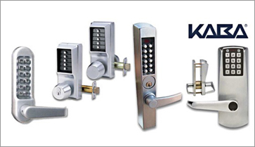 Master Locksmith uses Kaba keyless entry hardware