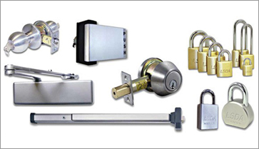 Master Locksmiths provides hardware for all types of door security