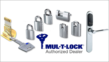 Master Locksmiths is proud to be a Mul-T-Lock Authorized Dealer